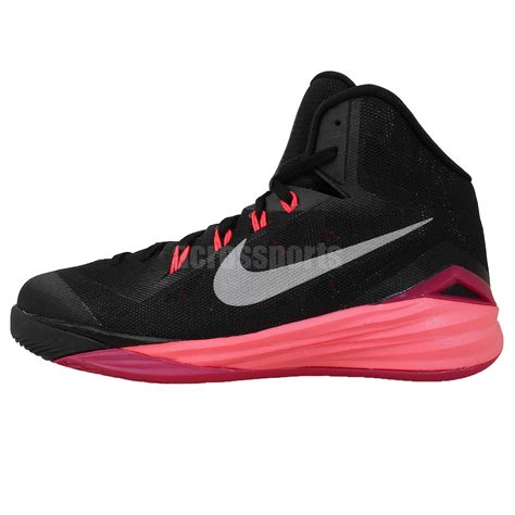 youth basketball shoes nike hyperdunk 2014 gs black silver pink boys youth