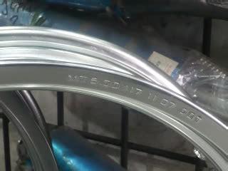 Ruji Ring 18 Klxdt150 modifikasi vixion pake velg jari2 ruji