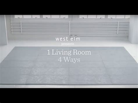 1 living room, 4 ways youtube