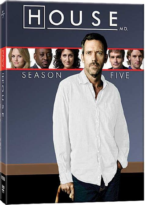 How Many Seasons Of House Md Is There House Dvd News Announcement For House Seasons 1 5