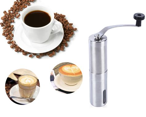 Special Offers Outdoor Ceramic Burr Coffee Grinder portable coffee grinder stainless steel ceramic burr crank manual coffee grinder for coffee