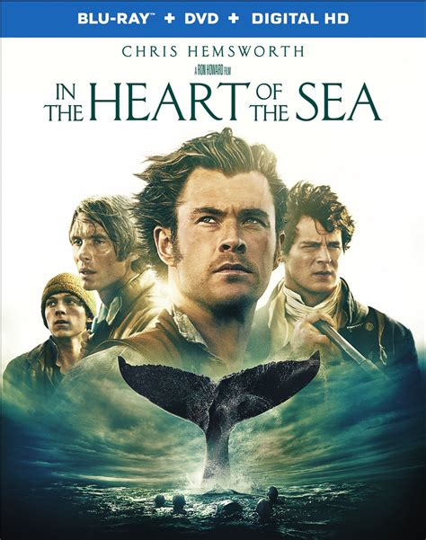 in the of the sea dvd release date march 8 2016