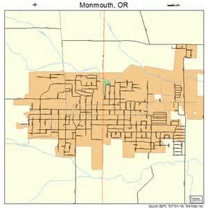 monmouth oregon map 4149550