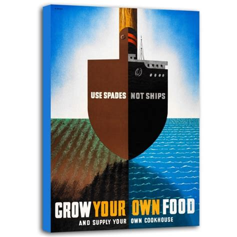 your own food grow your own food canvas poster grow your own food canvas print