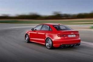 Audi Sedans Audi Rs3 Sedan Revealed With 400 Ps