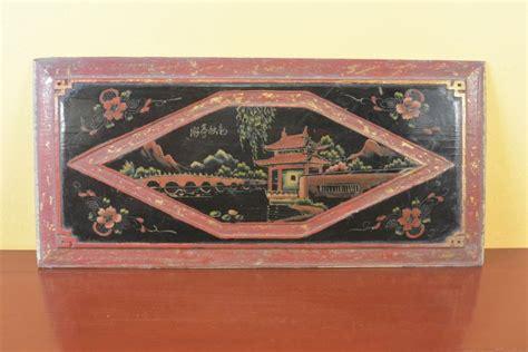 wood panel painting wood panel painting pagoda