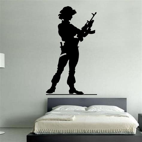 army wall stickers army 1 decal vinyl wall sticker mil1