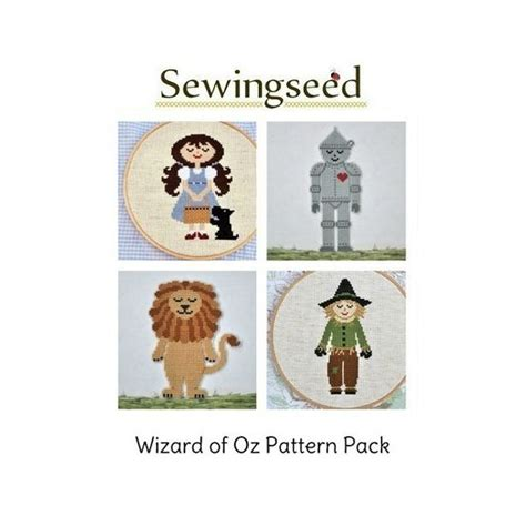 pattern wizard download the wizard of oz cross stitch pattern collection dorothy