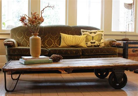 rustic sofa table with wheels inspirational rustic coffee table with wheels for living