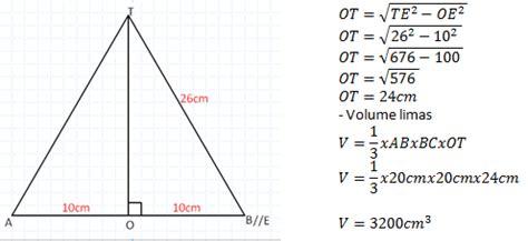 Tabung Dengan Ukuran Diameter 7 Tinggi 21 rumus dan contoh soal matematika