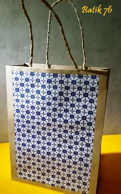 Jual Tas Kertas Batik by Jual Paperbag Tas Kertas Handmade Batik Motif Kartu