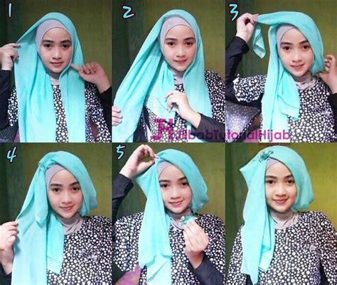 tutorial hijab turban zaskia tutorial hijab turban simple www pixshark com images