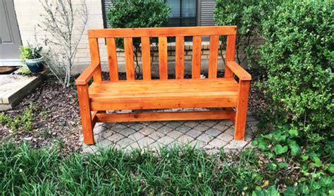 simple 2x4 bench plans diy 2x4 simple garden bench howtospecialist how to build step by step diy plans