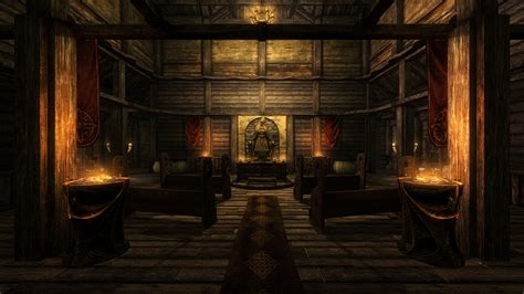 Temple Interior by Skyrim Ultra High Quality Screenshot Gallery By Tharn