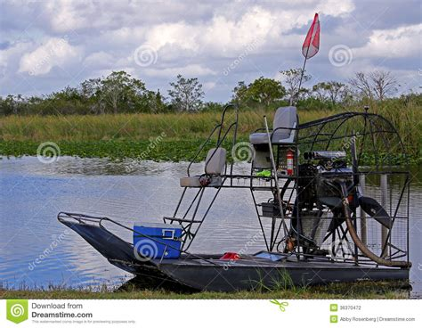 airboat keys airboat in the florida everglades stock photography