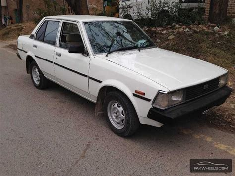 Toyota 1982 For Sale Toyota Corolla 1982 For Sale In Islamabad Pakwheels