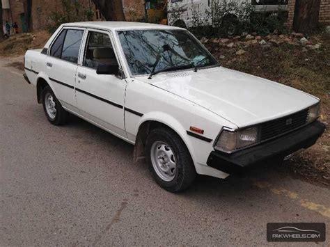 1982 Toyota Corolla For Sale Toyota Corolla 1982 For Sale In Islamabad Pakwheels