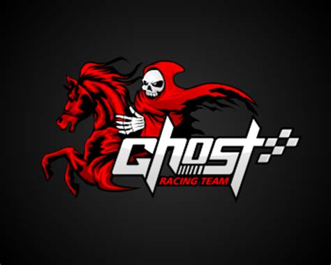 logo design entry number 85 by masjacky | ghost racing