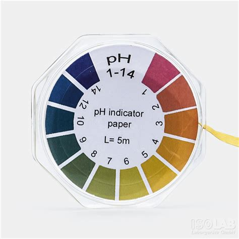 How To Make Ph Paper - isolab universal ph paper isolab laborger 228 te gmbh