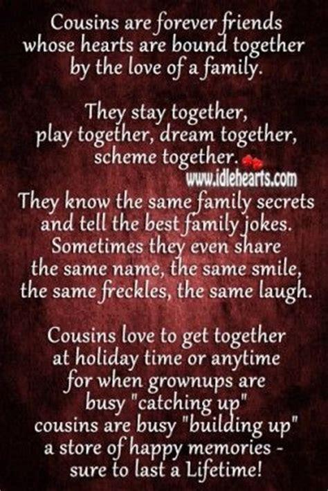 printable cousin quotes best quotes about cousins ideas on pinterest