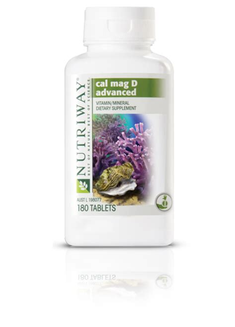 Vitamin Amway nutriway 174 cal mag d advanced vitamins supplements