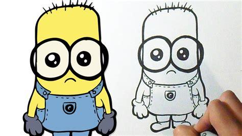 imagenes kawaii minions como desenhar lindo minion youtube
