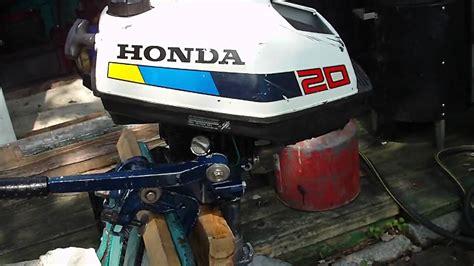 honda outboard 2hp honda bf20 2hp boat motor pt2