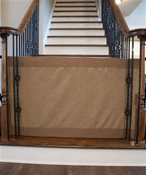 gates for stairs with banisters look at this zulilyfind mocha stair barrier banister to