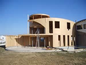 maison bois trait design architecture organique