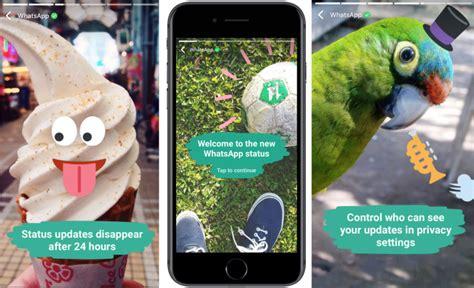 whatsapps status snapchat clone hits 175m daily users in 10 weeks whatsapp s status snapchat clone hits 175m daily users