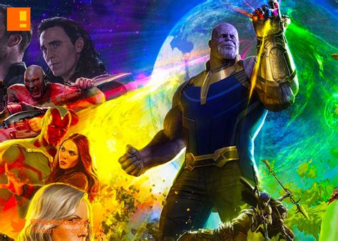 marvel s infinity war the of the infinity war concept has thanos harnessing