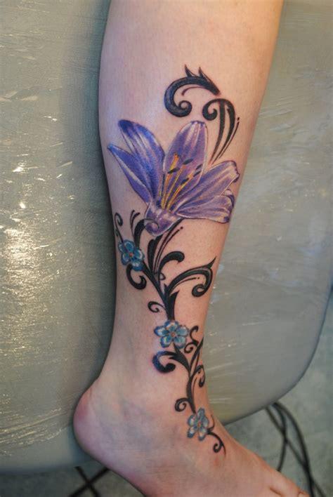 tattoo design for girl on leg lilly for the leg tattoos pinterest leg tattoos