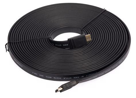 Kabel Hdmi 10m Versi 1 4 cable hdmi a hdmi version 1 4 flat 15 metros hd 1080p