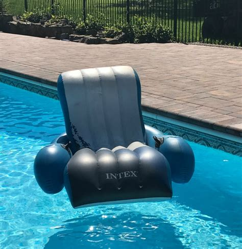 Floating Recliner Lounge by Intex Floating Recliner Lounge