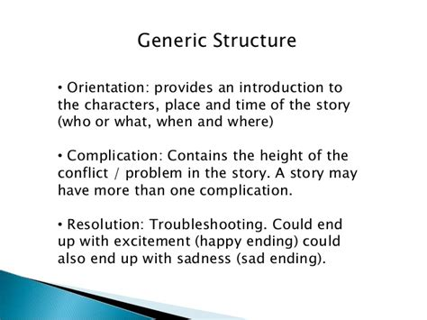 generic structure short biography reading narrative text