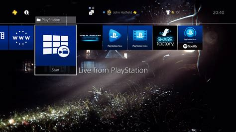 ps4 background how to create custom wallpapers on ps4 guide push square