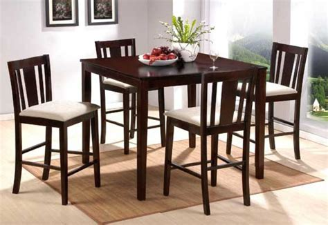 high top dining room set counter high dining set home and interior design