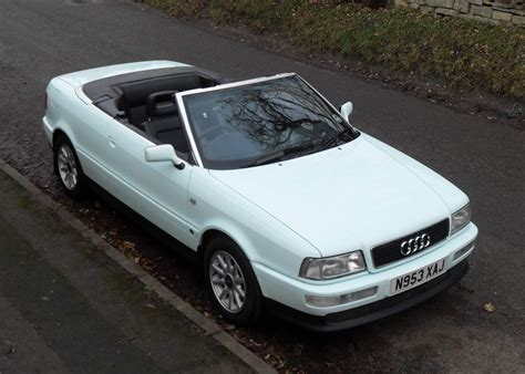 1995 audi cabriolet information and photos zombiedrive