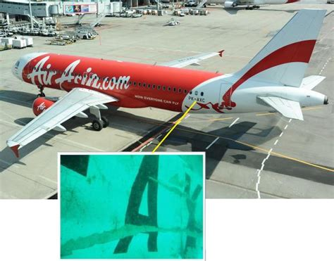 airasia qz262 asian defence news tail of airasia qz8501 has been found