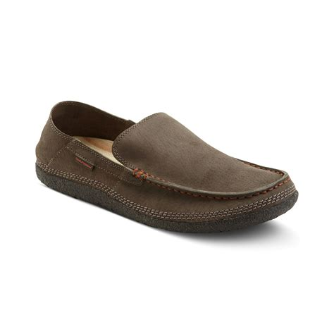 hush puppies loafers hush puppies 174 profile fold slip on loafers in brown