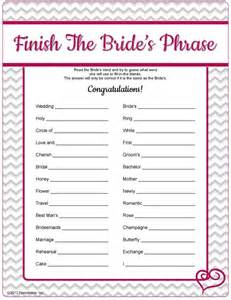bridal shower free printable printable bridal shower with answers search