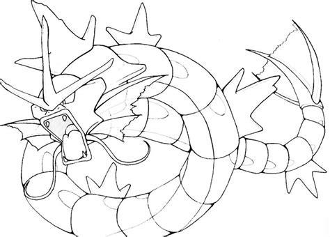 pokemon coloring pages magikarp pokemon gyarados drawing images pokemon images