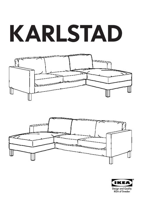 karlstad chaise add on unit karlstad chaise add on unit lind 246 beige ikea united