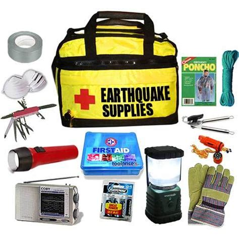 earthquake kit earthquake emergency preparedness kits 2007 hurricane