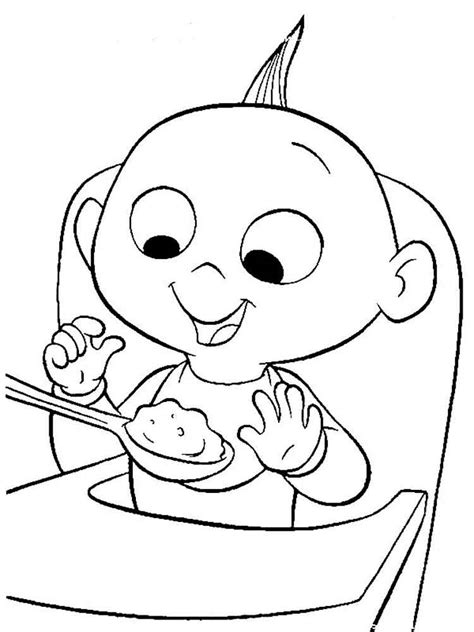 jacks of color the incredibles coloring pages and print the