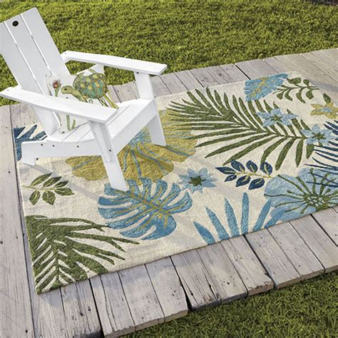 outdoor themed area rugs outdoor living with themed d 233 cor