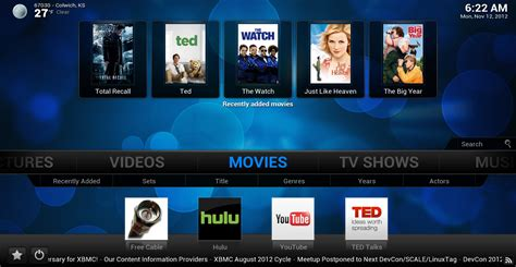 xbmc for android xbmc 12 0 beta 1 has support for raspberry pi