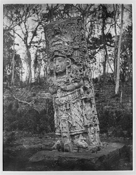 In Maudslay S Shadow Imaging Pre Columbian Mesoamerica