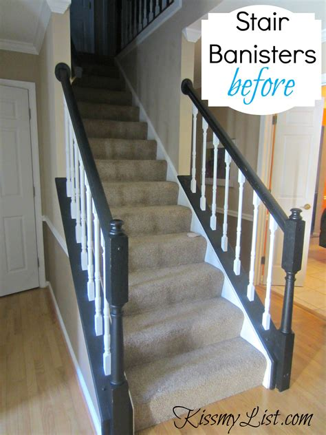 stair banisters ideas painting stair railings quotes