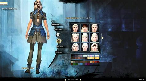 guild wars 2 hairstyles norn female every hair styles guild wars 2 youtube